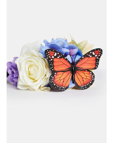 Lush Garden Magic Flower Headband