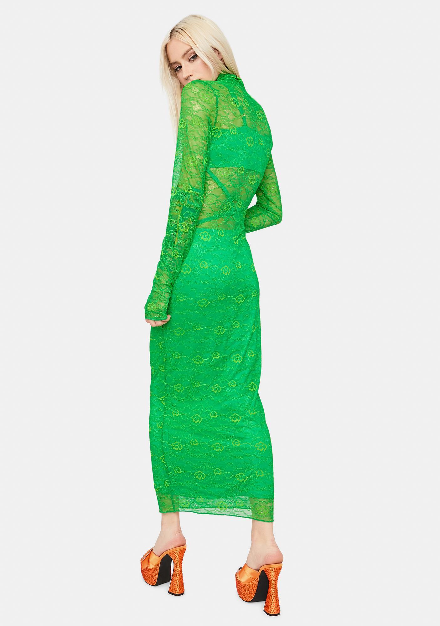AFRM Lizzo Lace Dress