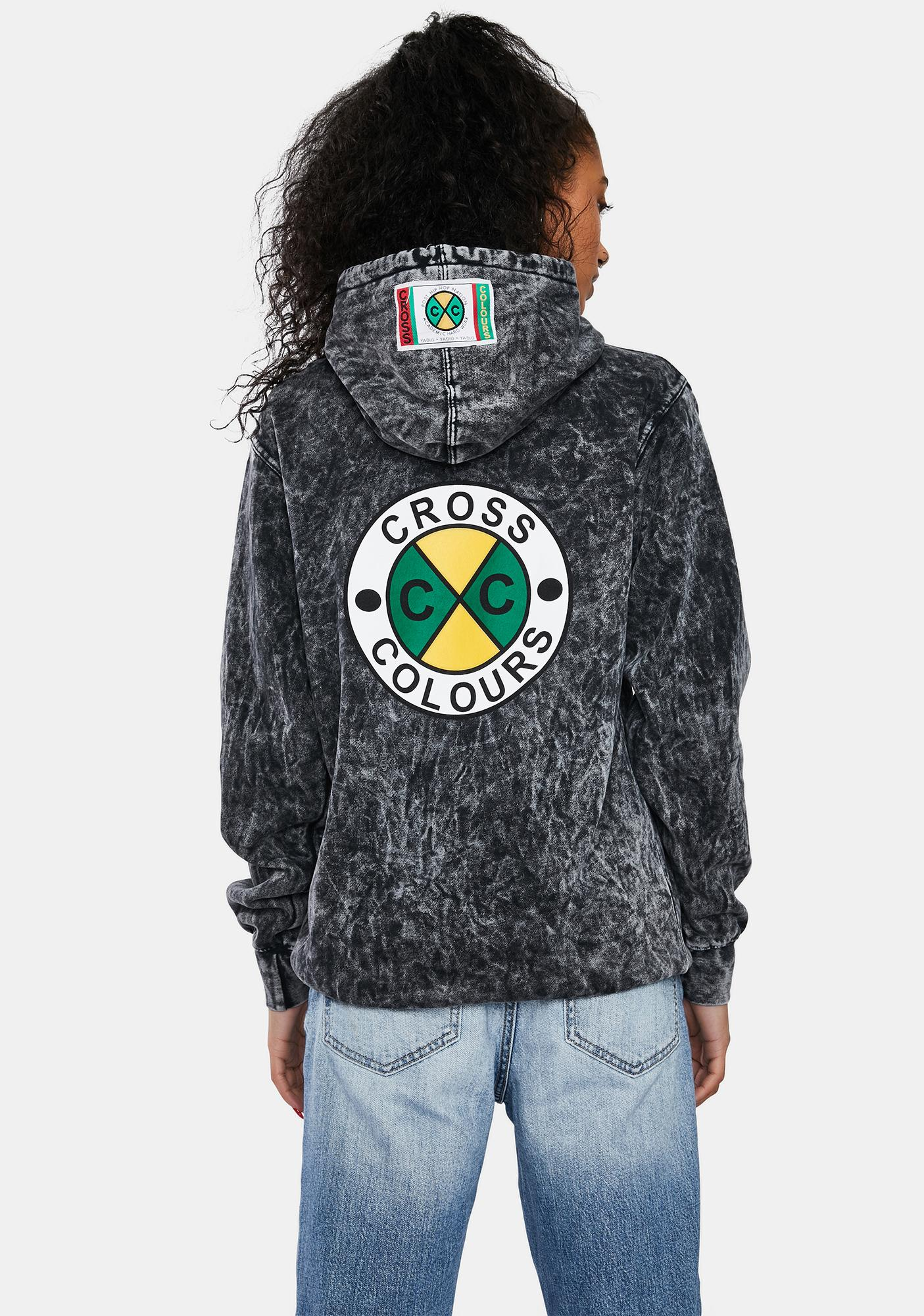 Cross Colours Circle Logo Hoodie