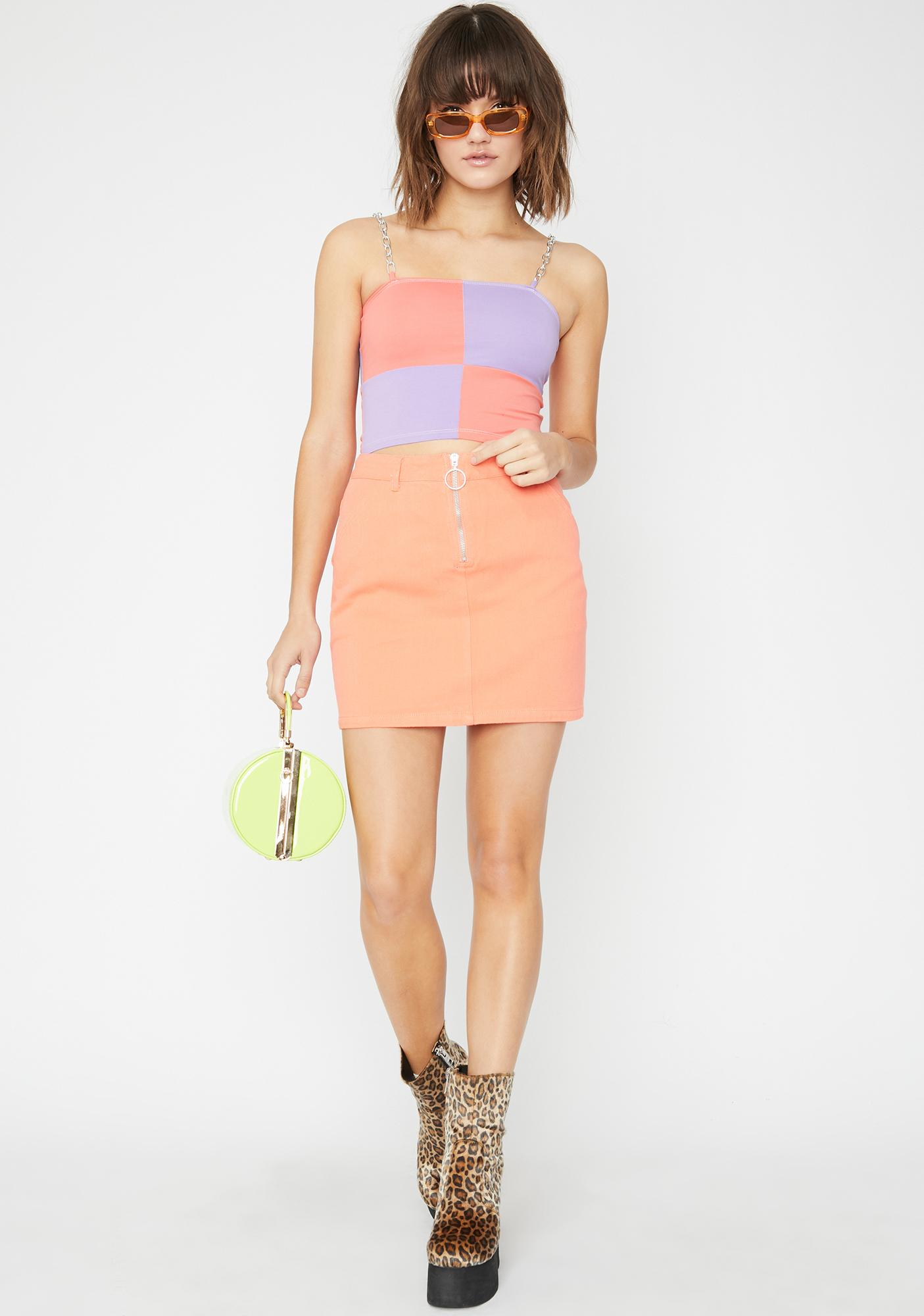 Juicy Bardi Gang Denim Skirt