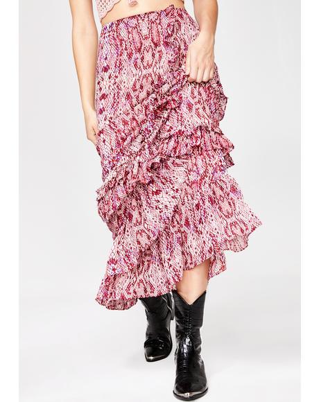 Desert Dame Maxi Skirt