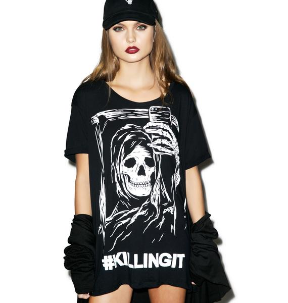 Iron Fist Killing it Boyfriend Tee