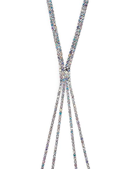 Diamond Dust Chained Necklace
