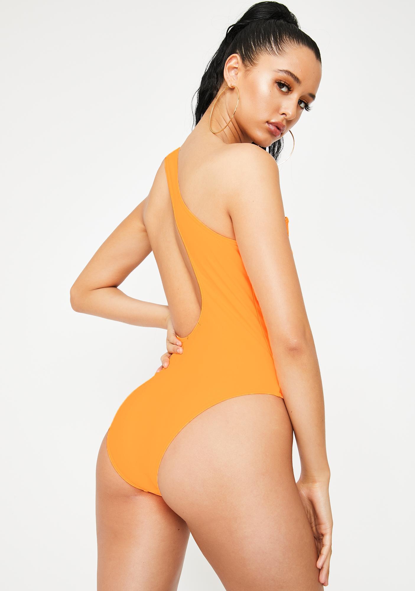 Poster Grl Steady Mobbin' One Piece Swimsuit