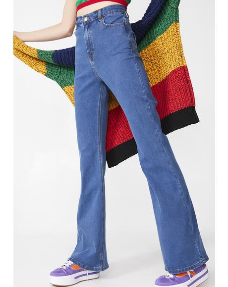 Rainbow Love Jeans