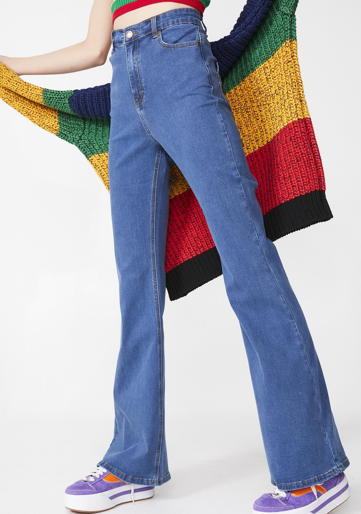 Lazy Oaf Rainbow Love Jeans