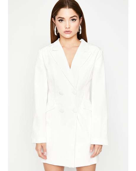 Boardroom Babe Blazer Dress
