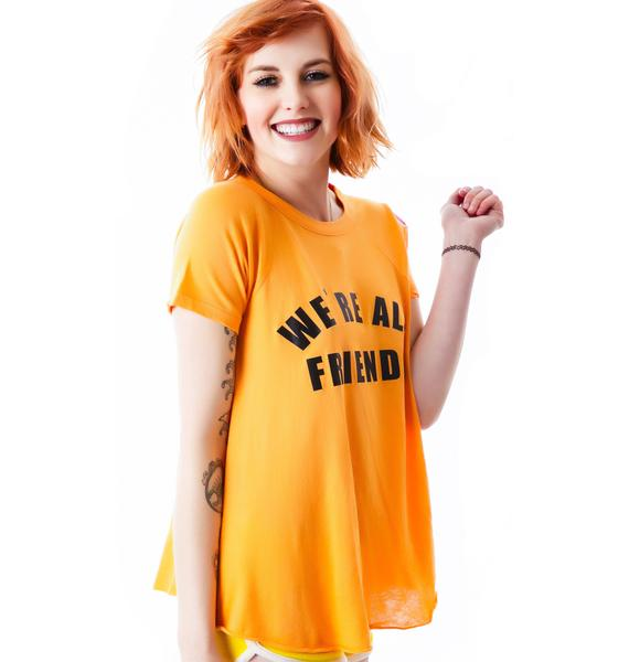 Wildfox Couture We're All Friends Retro Raglan