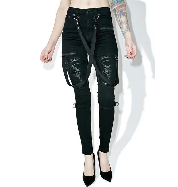 Killstar Grave Slave Skinny Jeans