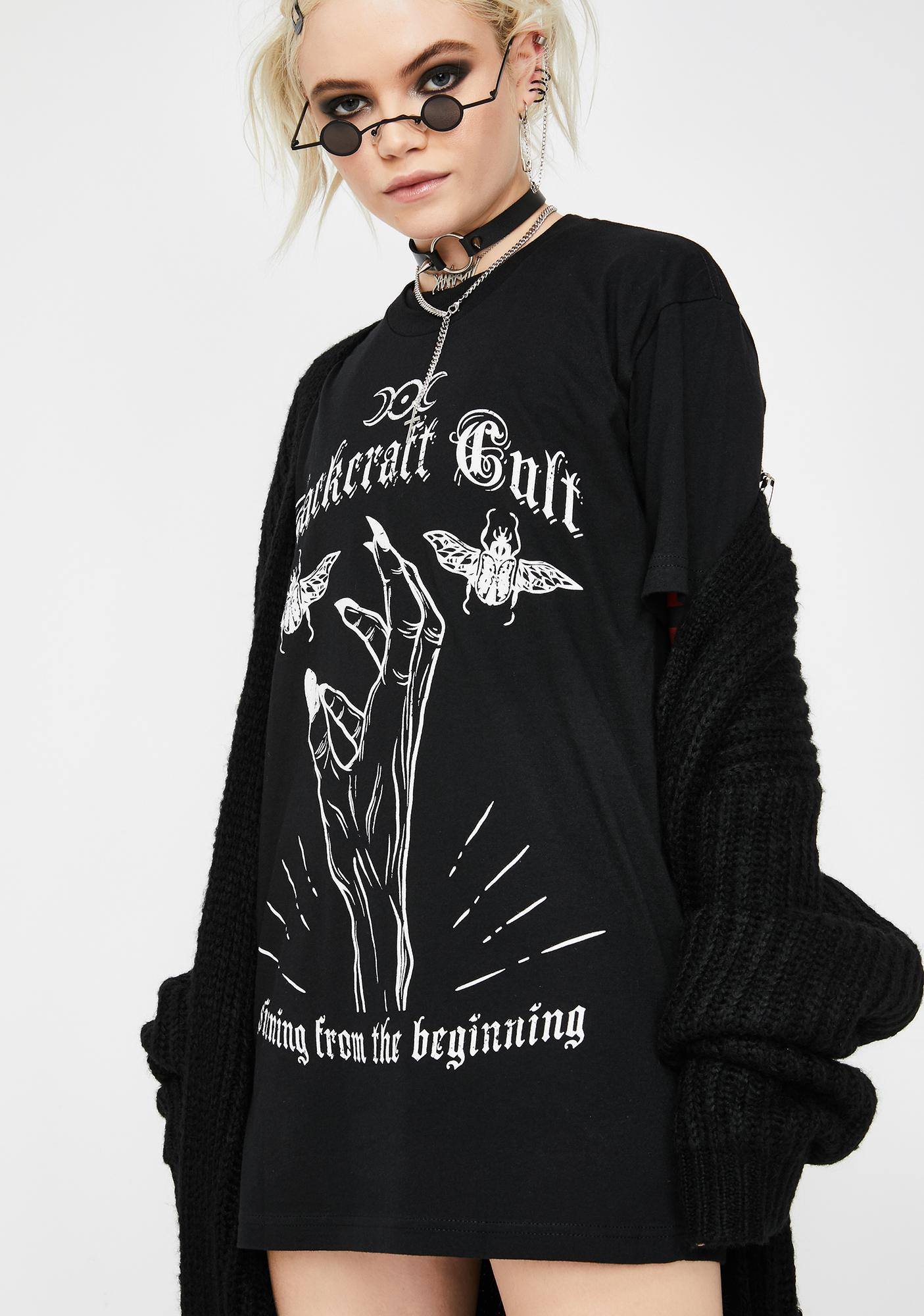 Blackcraft Sinning From The Beginning Graphic Tee