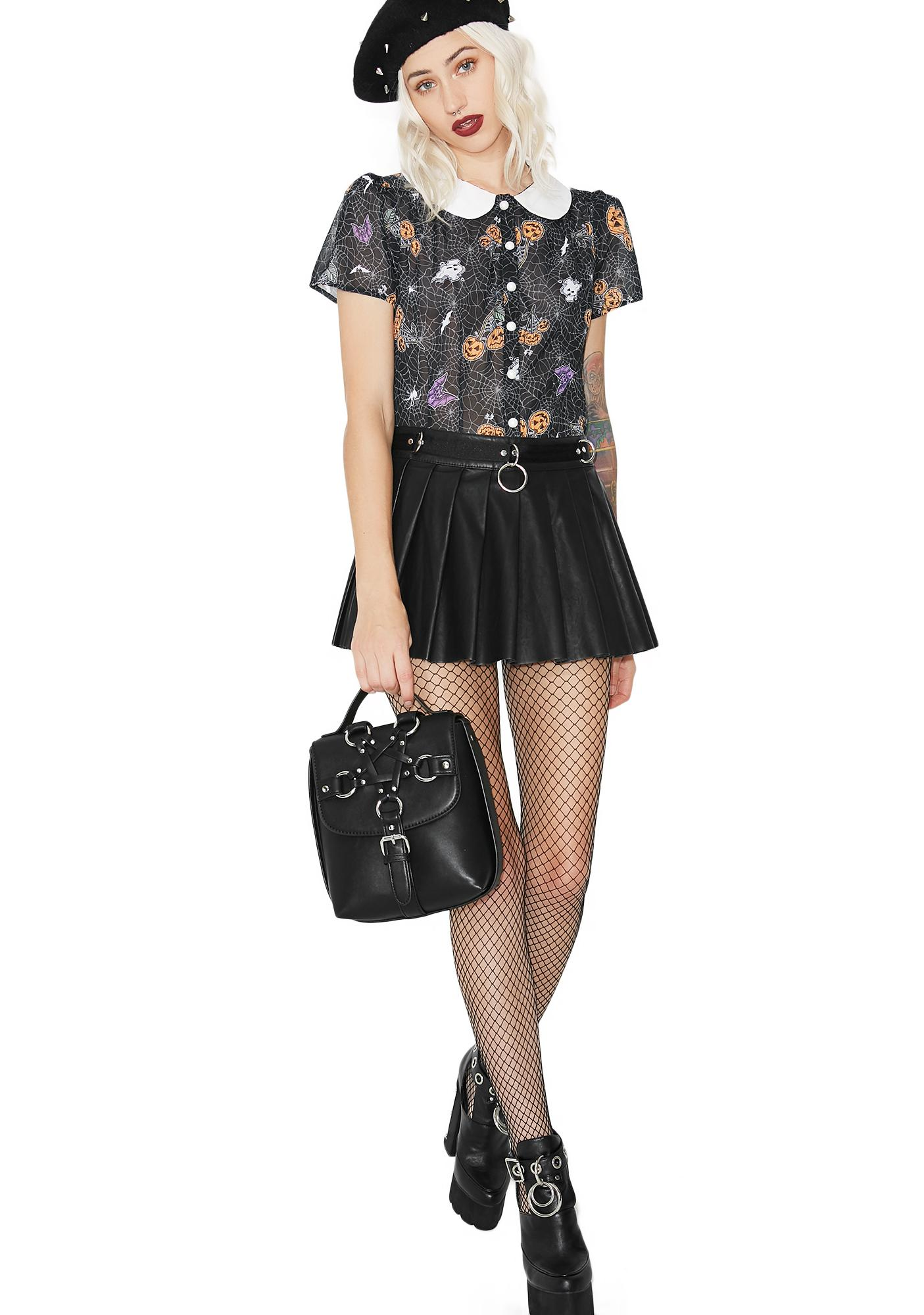 Hell Bunny Harlow Blouse