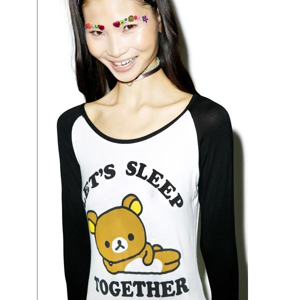 Rilakkuma Sleep Together Tee