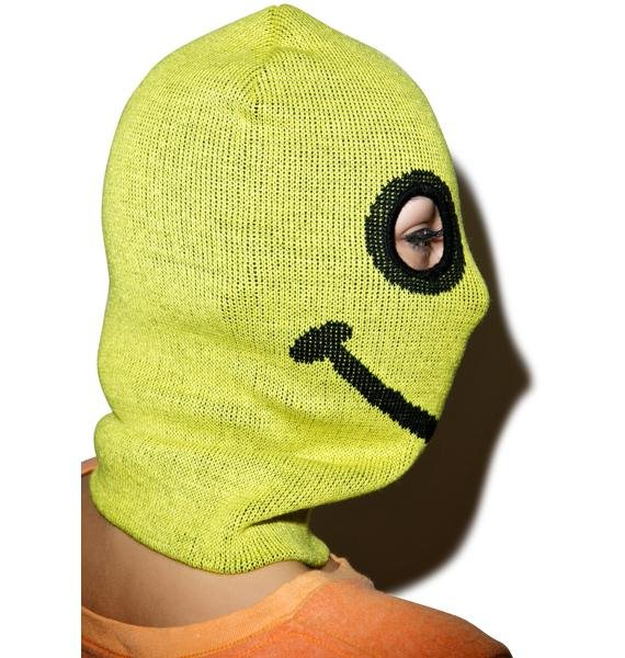 Happy Daze Knit Mask