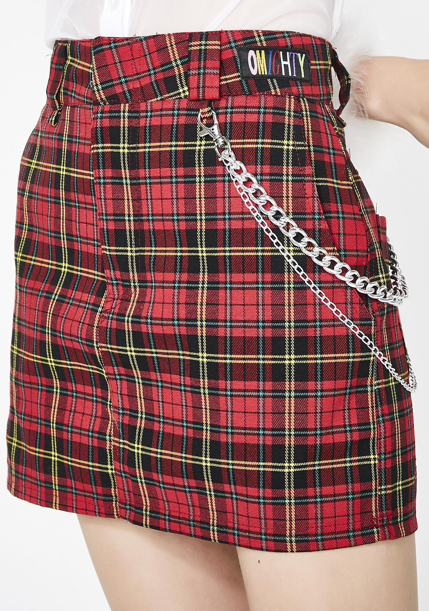 O Mighty Avril Chain Skirt