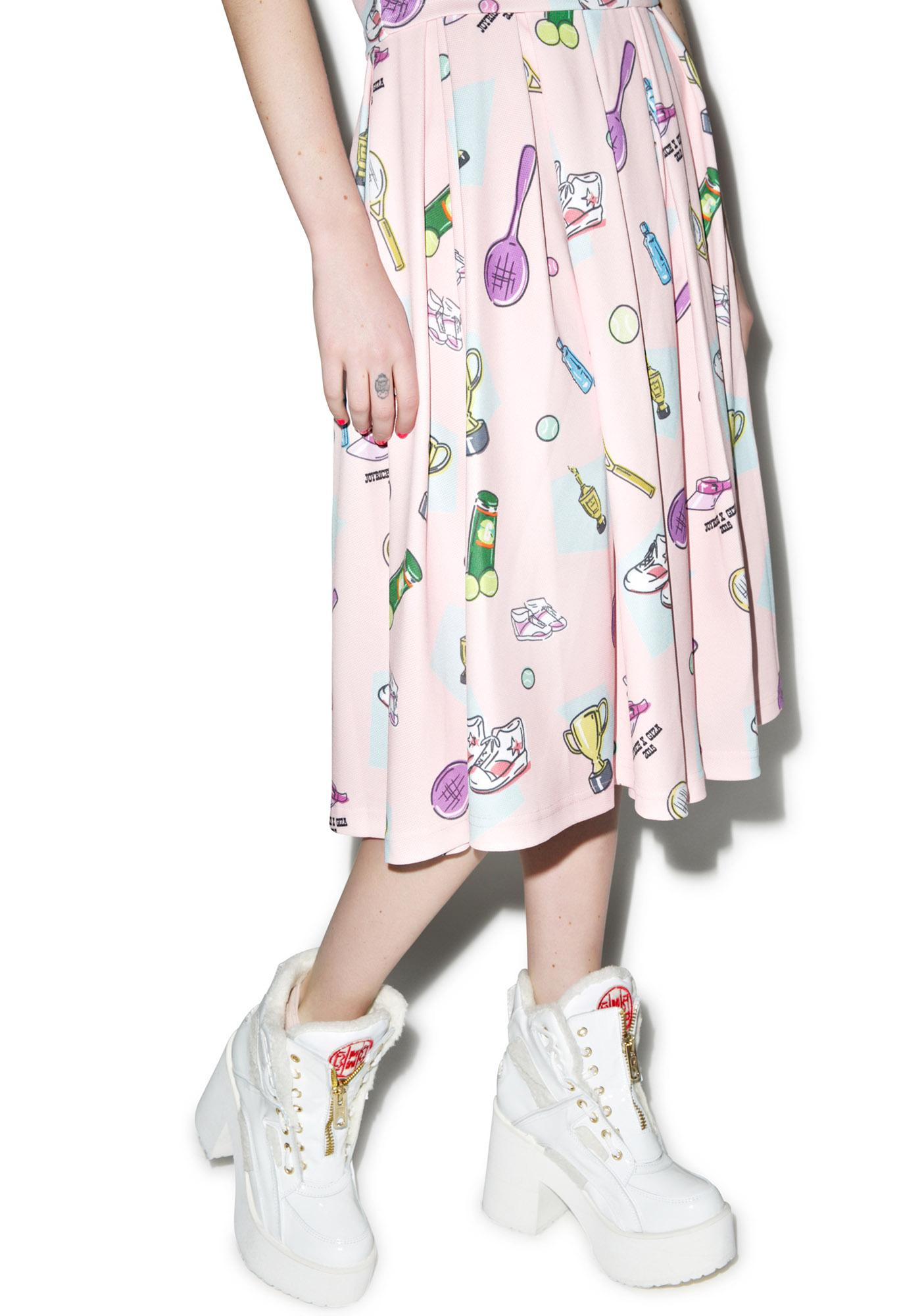 Joyrich X GIZA Tennis Club Retro Tennis Skirt