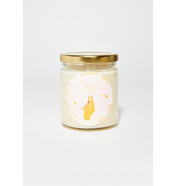 Rosehound Apparel Love Motel Candle