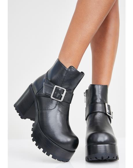 Light It Up Platform Boots