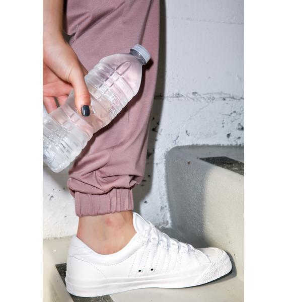 K-SWISS White Irvine Sneakers