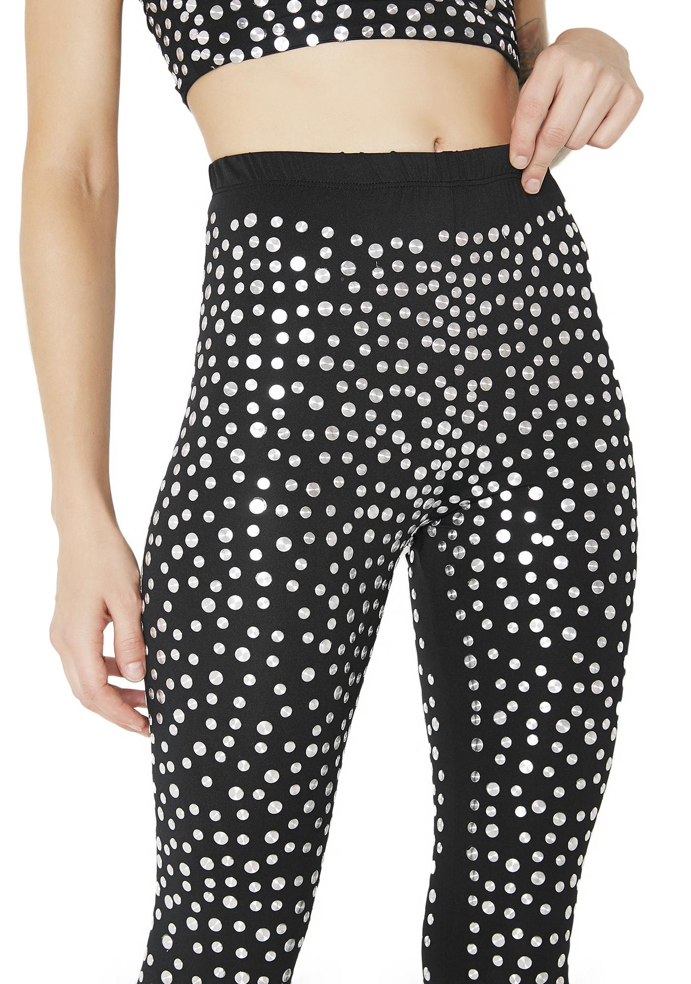 Kiki Riki Easy Money Studded Leggings