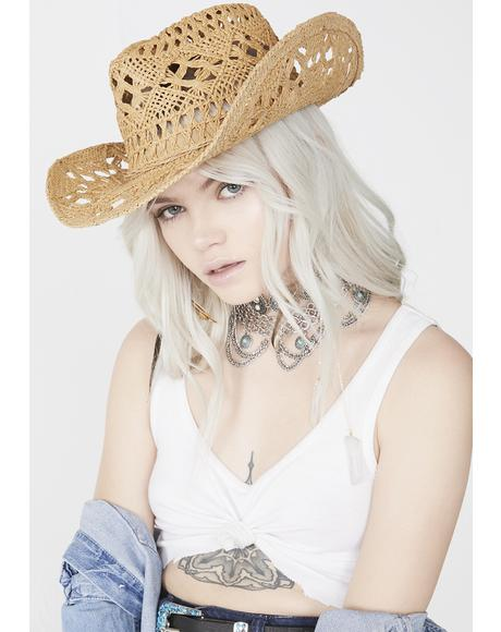 Hawt Tempered Cowgirl Hat