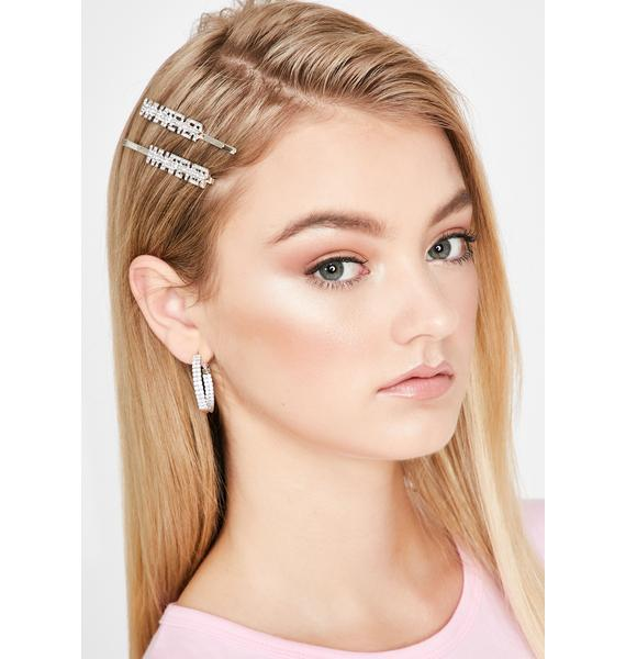 Um Yeah Whatever Hair Pins
