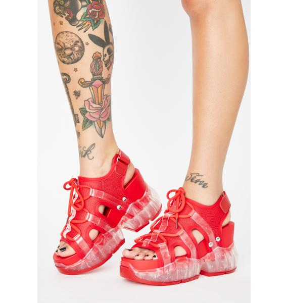 Anthony Wang Fire Xtreme Elements Chunky Sandals