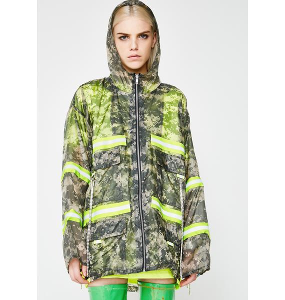 Whatever 21 Crystal Camo Jacket