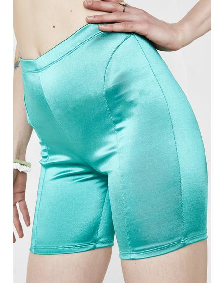 Emerald City Biker Shorts