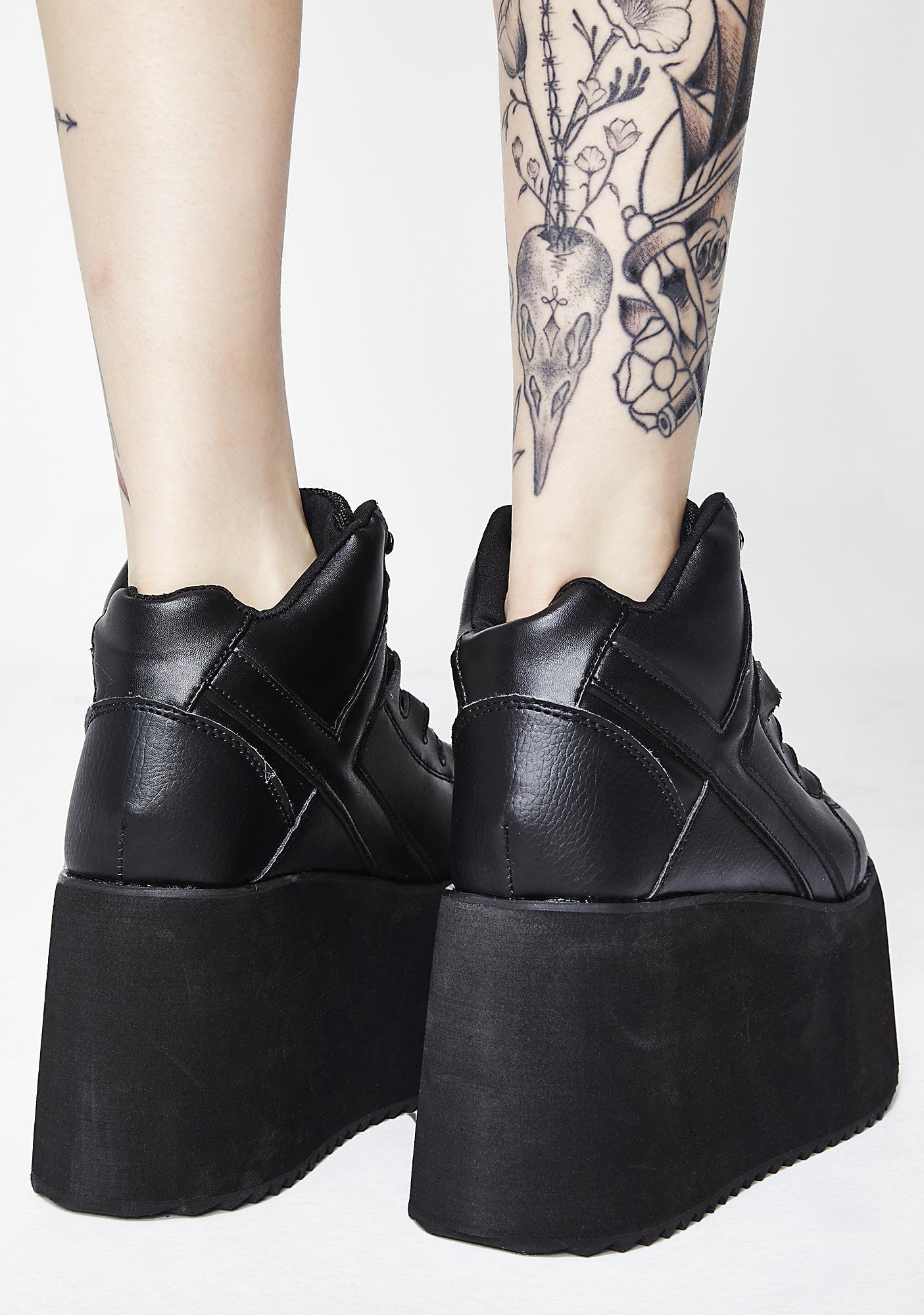 Y.R.U. Qozmo II Platform Sneakers