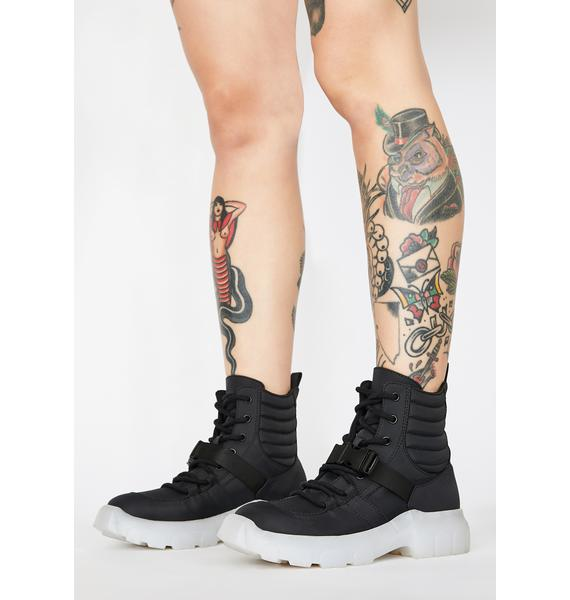 Poster Grl Gas Me Up Utility Sneakers