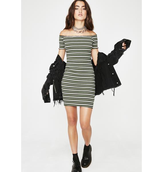 Dank Get At Me Stripe Dress