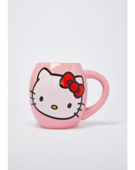 Blissful Days Hello Kitty Mug