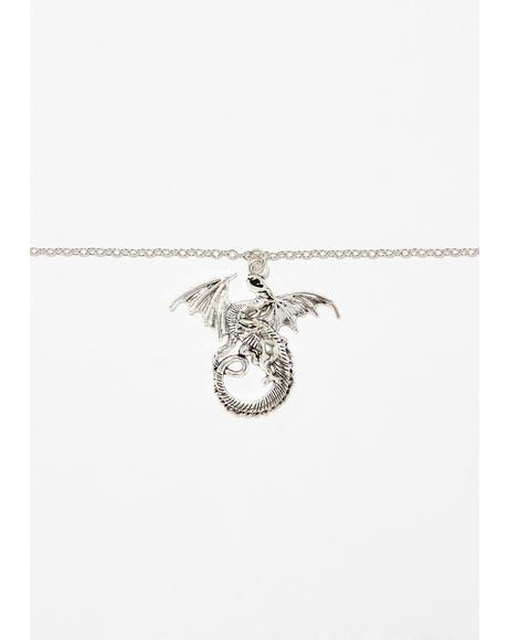 Fire Breather Dragon Choker