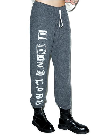 I Don't Care Tanzy Sweat Pants