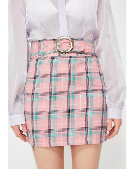Boo'd Up Clique Mini Skirt