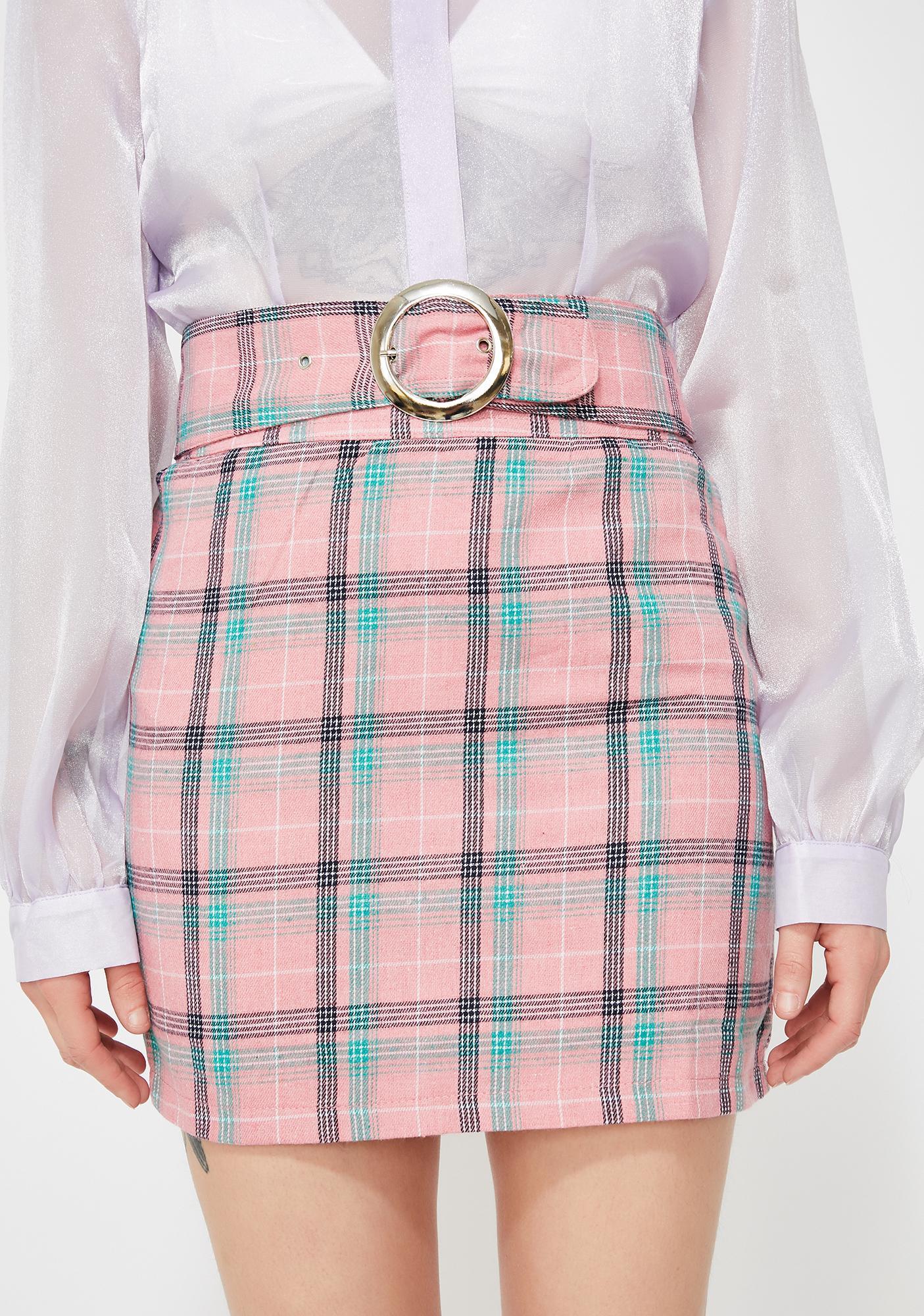 Boo'd Up Clique Mini Skirt