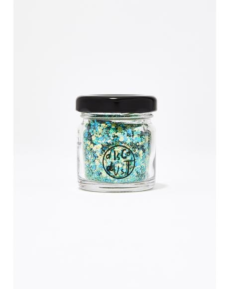 Blue Extra Chunky Bio Glitter