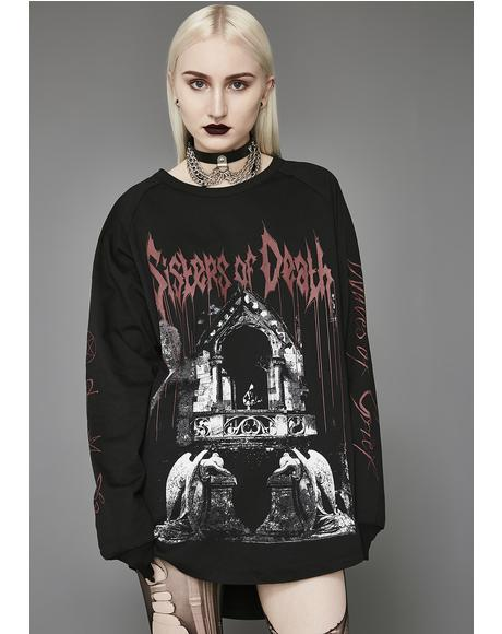 Waves Of Grief Long Sleeve Tee