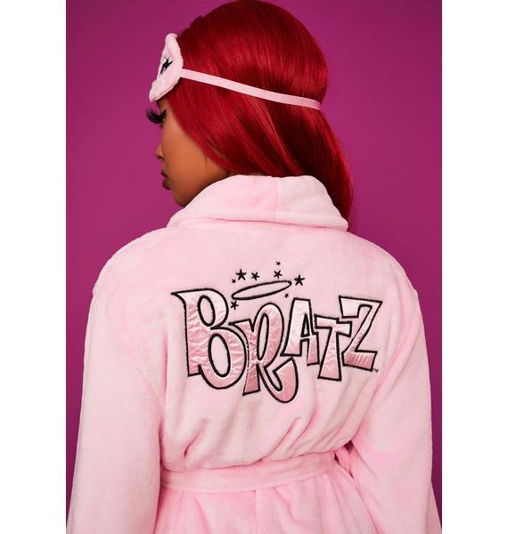 Dolls Kill x Bratz Beauty Rest Robe & Mask Set