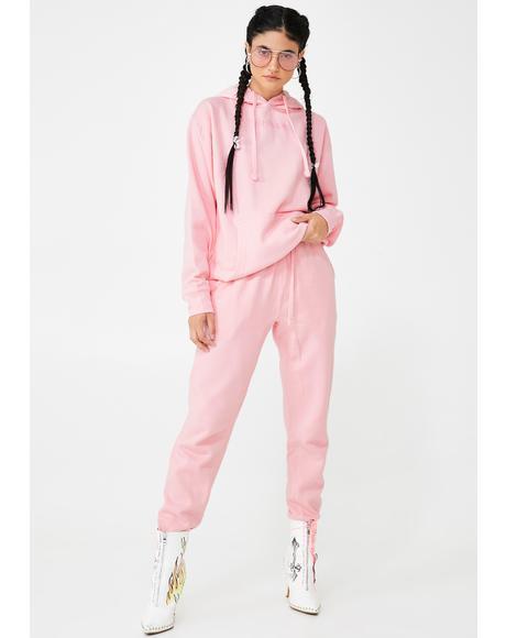 Baby Pink Jogger Set