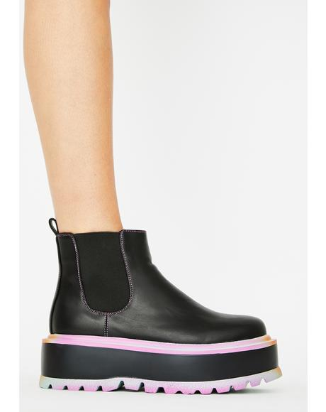 Raum Chelsea Platform Boots