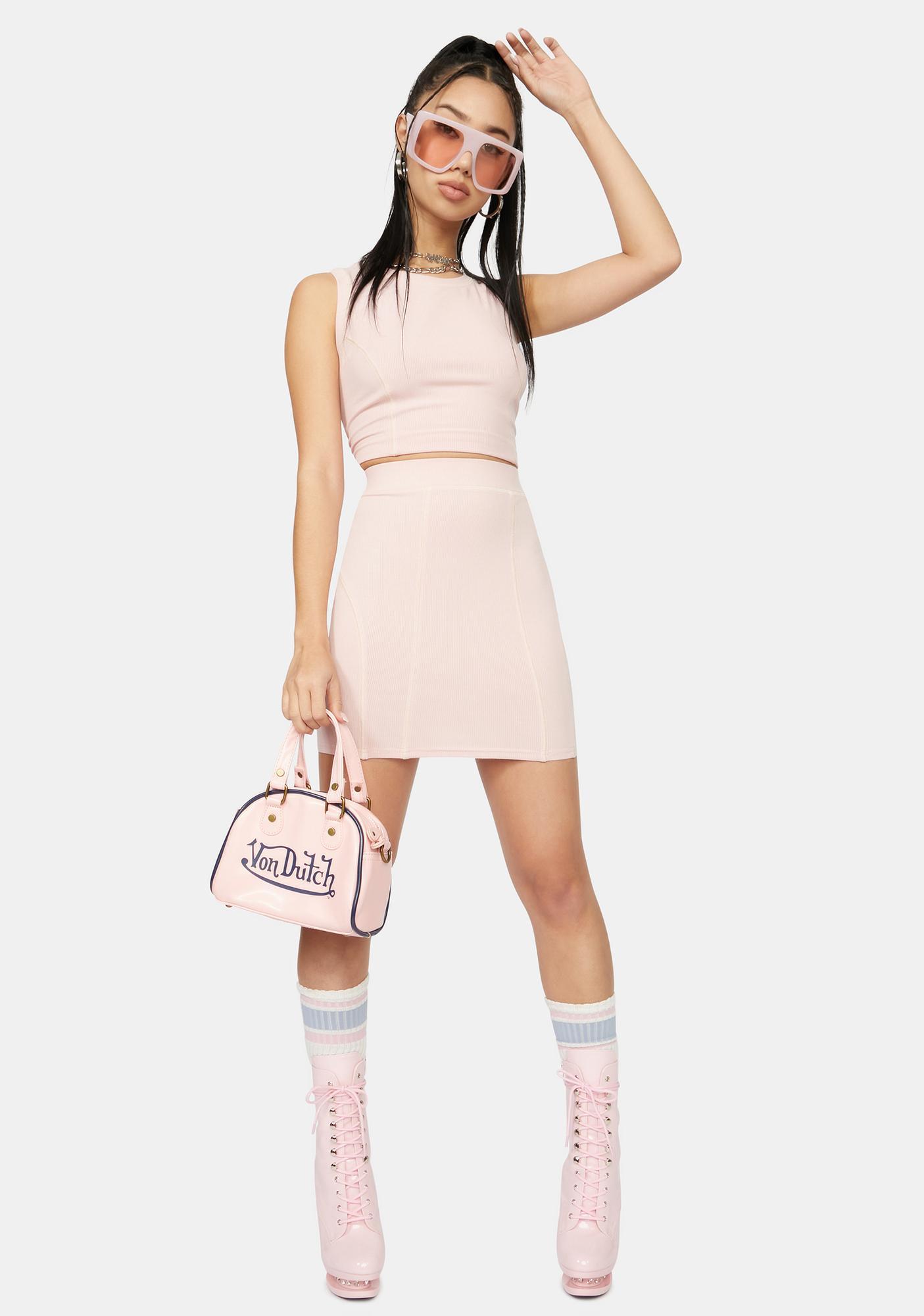 Next To Me Bodycon Mini Skirt