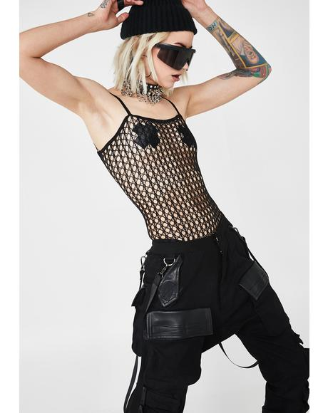 Sinful Fantasy Crochet Bodystocking