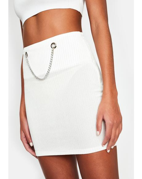 Waiting Game Mini Skirt