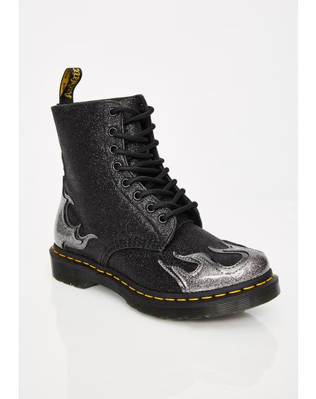Onyx 1460 Pascal Flame Boots