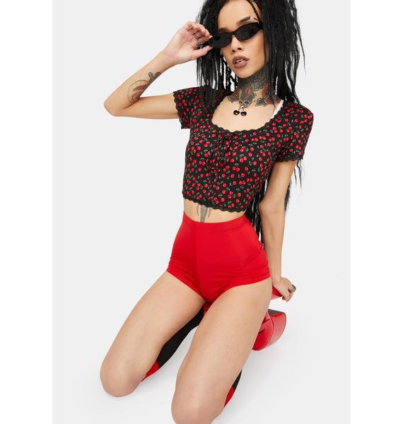Kiki Riki Cherry You Go Girl Hot Shorts