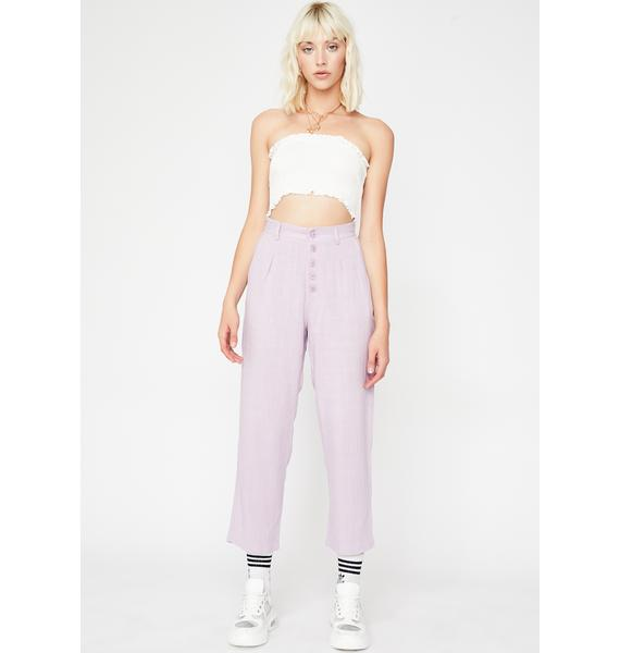 Who Da Boss Cropped Trousers
