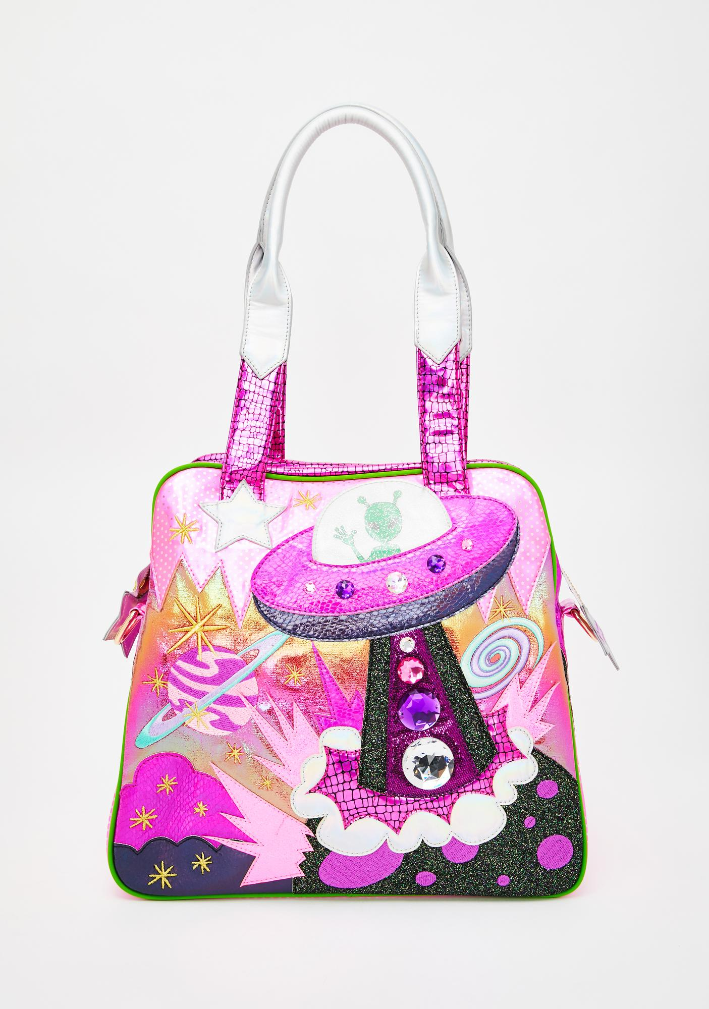 Irregular Choice We Come In Peace Bag