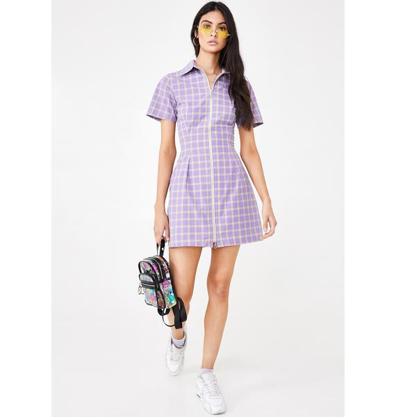 The Ragged Priest Dimension Checkered Dress