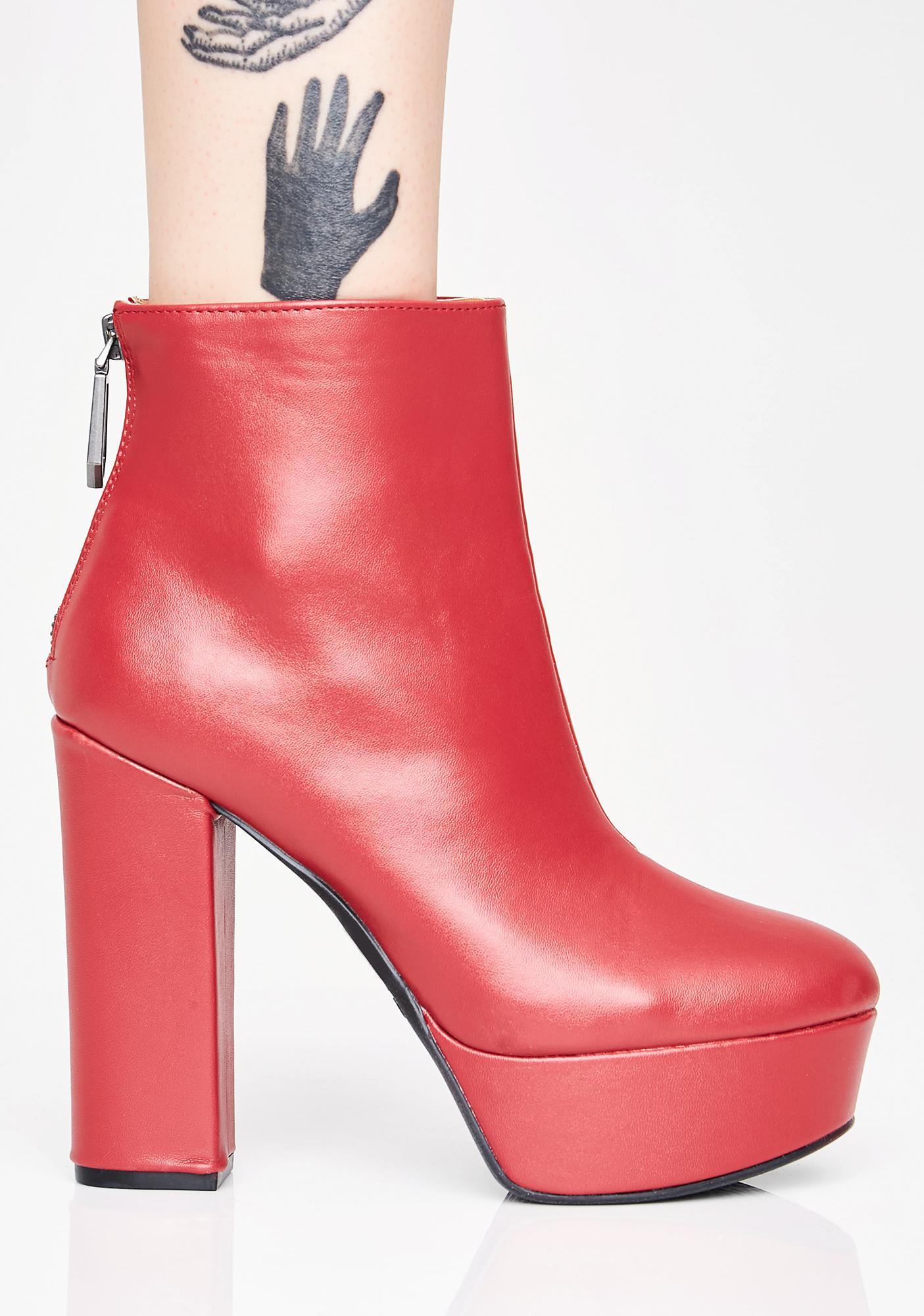 Blazed Soul Snatcher Platform Boots